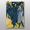 "Big Box Art ""Vienna"" by Ernst Ludwig Kirchner Art Print"