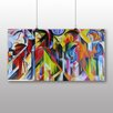 Big Box Art Stables' by Franz Marc Art Print