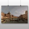 Big Box Art Poster Grand Canal, Venedig von Giovanni Canaletto, Kunstdruck