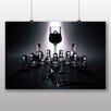Big Box Art 'Glass Chess Game' Photographic Print