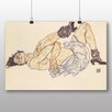 Big Box Art 'Woman Laying Down' by Egon Schiele Art Print