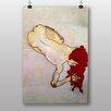 "Big Box Art ""Wire and Paint Study"" by Egon Schiele Art Print"