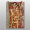 "Big Box Art ""Hygeia"" by Gustav Klimt Art Print"