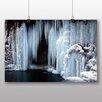 Big Box Art Frozen Waterfall Photographic Print