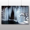 Big Box Art Poster Frozen Waterfall, Fotodruck