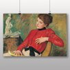 Big Box Art 'Girl with Reading Book' by Federico Zandomeneghi Art Print
