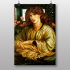 "Big Box Art ""The Woman and Window"" by Dante Gabriel Rossetti Art Print"