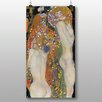 Big Box Art 'Water' by Gustav Klimt Art Print
