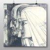 """Big Box Art Poster """"Drei"""" von Jan Toorop, Kunstdruck"""