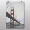 Big Box Art Poster Golden Gate Bridge San Francisco, Fotodruck