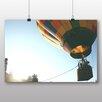 Big Box Art Poster Heißluftballon Startklar, Fotodruck