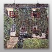 Big Box Art 'House' by Gustav Klimt Art Print