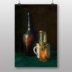 "Big Box Art Poster ""Still Life No.2"" von Jean Chardin, Fotodruck"