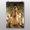 "Big Box Art Poster ""On the Thames"" von James Tissot, Kunstdruck"
