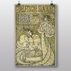 "Big Box Art Poster ""Two Women"" von Jan Toorop, Kunstdruck"