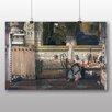 """Big Box Art Poster """"Ancient Egypt"""" von Lawrence Alma Tadema, Kunstdruck"""