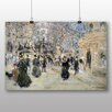 Big Box Art 'The Boulevard' by Jean Francois Raffaelli Art Print
