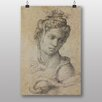 "Big Box Art ""Cleopatra"" by Michelangelo Art Print"