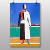 Big Box Art The Rake by Kazimir Malevich Art Print