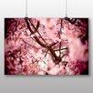 """Big Box Art Poster """"Japanischer Kirschblütenbaum Nr. 2"""", Fotodruck"""