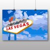 Big Box Art Las Vegas Sign No.1 Vintage Advertisement