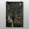"Big Box Art ""Nocturnal Berlin"" by Lesser Ury Art Print"
