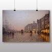 Big Box Art 'Street Scene' by John Atkinson Grimshaw Art Print