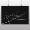Big Box Art Poster Modern Abstract Lights, Grafikdruck