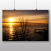 Big Box Art Poster Relaxing Sunset, Fotodruck