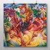 "Big Box Art Poster ""Elastizität"" von Umberto Boccioni, Kunstdruck"