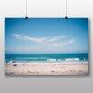 Big Box Art Poster Sandy Beach Scene No.8, Fotodruck