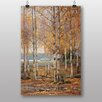 Big Box Art Birch Trees by Victor Westerholm Art Print