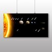 Big Box Art Solar Sytem Planets Space Graphic Art