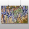 Big Box Art 'Tree Roots' by Vincent Van Gogh Art Print