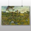 Big Box Art 'Sunset at Montmajour' by Vincent Van Gogh Art Print