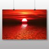 Big Box Art Sunset Photographic Print