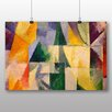 Big Box Art 'Abstract' by Robert Delaunay Art Print