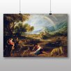 Big Box Art 'Landscape with a Rainbow' by Peter Paul Rubens Art Print