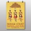 Big Box Art Poster Indian Court No.1, Retro-Werbung