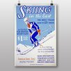 Big Box Art Skiing Vintage Advertisement