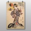 "Big Box Art ""Utagawa Japanese Oriental No.7"" by Utagawa Toyokuni Art Print"