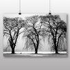 Big Box Art Poster Three Beautiful Trees, Fotodruck