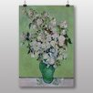 "Big Box Art ""White Roses"" by Vincent Van Gogh Art Print"