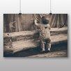 Big Box Art Poster Junges Kind im Zirkus, Fotodruck