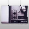 Big Box Art Poster Vintage Music Player No.5, Fotodruck