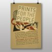 Big Box Art Poster Vintage s for the People; Retro-Werbung
