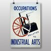 Big Box Art Poster Industrial Arts, Retro-Werbung