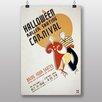 Big Box Art Halloween Roller Skating Vintage Advertisement