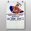 Big Box Art Moderns Dance Vintage Advertisement