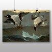 Big Box Art Poster Right and Left, Kunstdruck von Winslow Homer